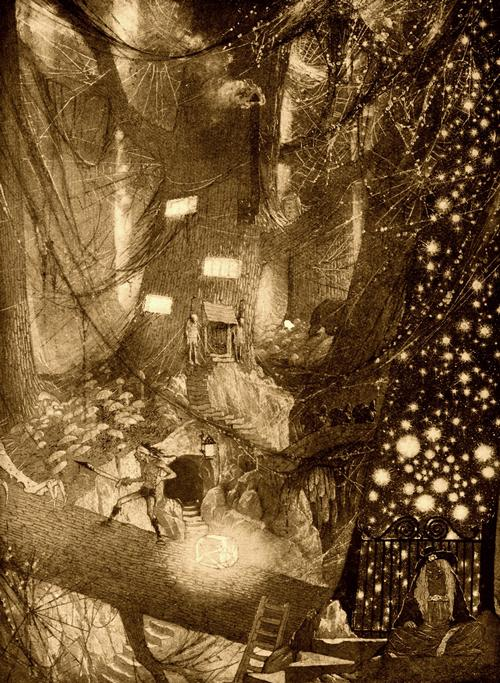 Sidney Sime «The Ominous Cough»